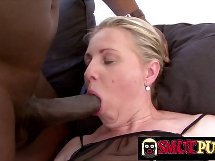 Matures Show off Their BBC Sucking Skills Compilation Part 3