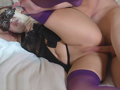 STEP SON ANAL FUCKS STEP MOM WHILE DAD IS AWAY AND CREAMPIES HER PUSSY