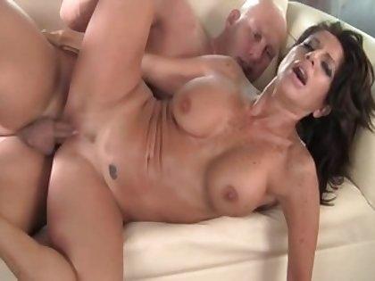 Crazy pornstar Tara Holiday in best cunnilingus, latina adult movie