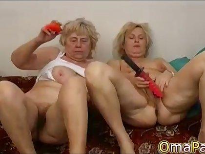 OmaPasS Natural Perishable Full-grown Amateur Porn Video