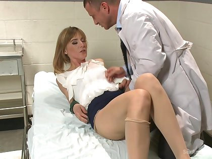 Milf with small tits, hard sex with the horny drop anchor with a big dick