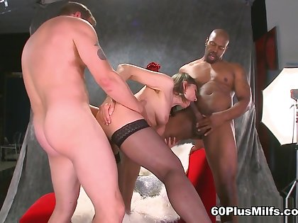 Donna Takes Things A Step Further - Donna Davidson, Lucas Stone, And Seth Dickens - 60PlusMilfs
