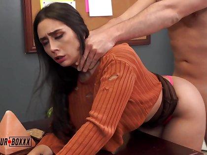 Fucks The Busty Intern - Lilly Hall