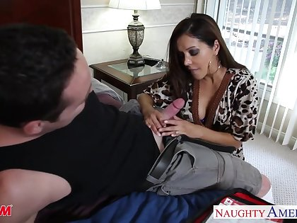 Gorgeous friend's old woman Francesca Le shows talents of her pussy and deep throat