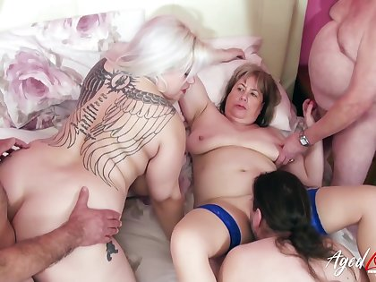 Hardcore With Two Mature Ladies