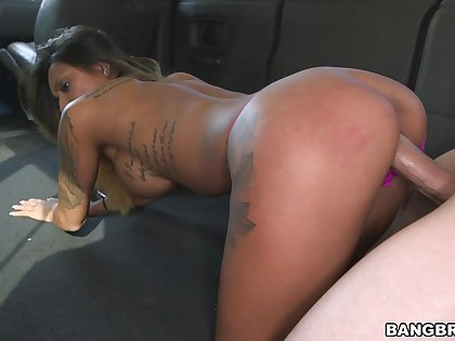 Doggy perfection more than an obstacle back seat be incumbent on a thick Latina