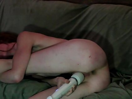 freckledRED Fucks Her Creamy Pussy & Cums Multiple Days On Myfreecams!